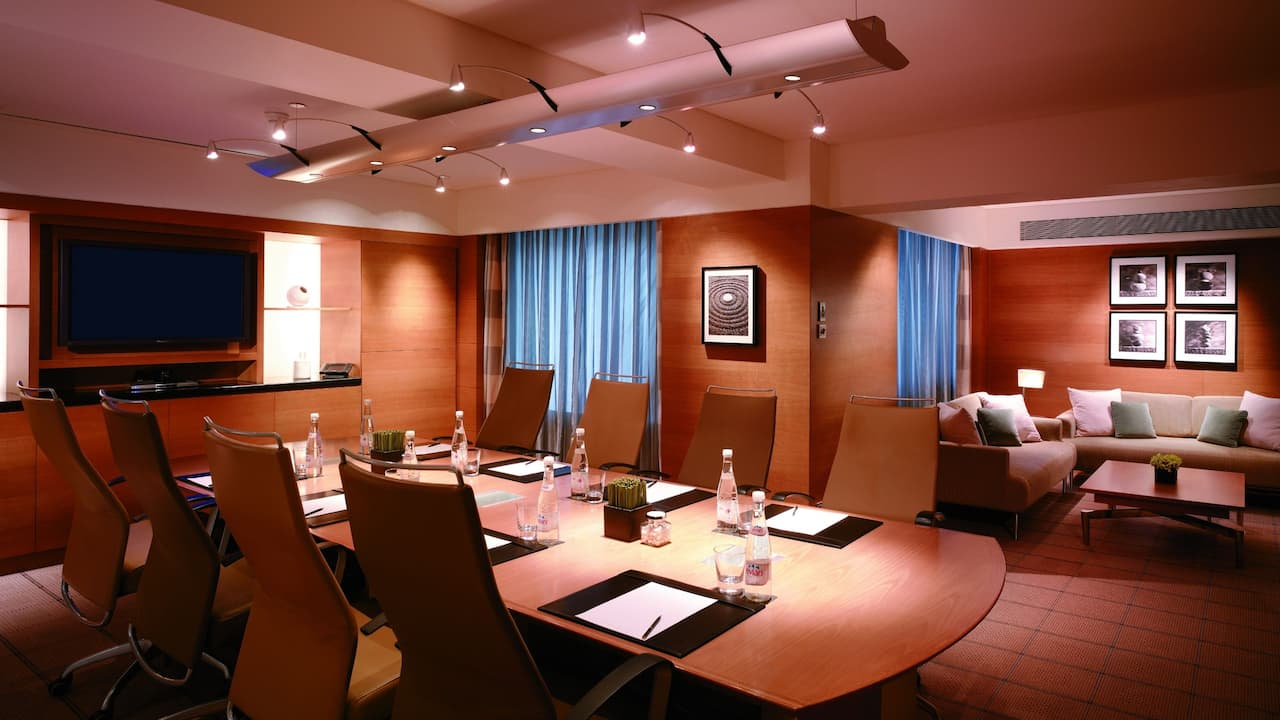 The Boardroom Meeting Room Grand Hyatt Singapore, Orchard Road