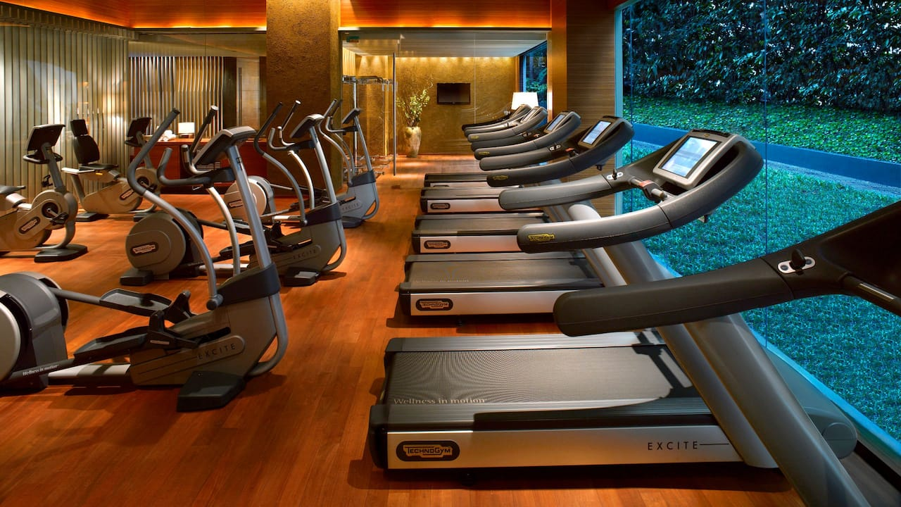 Fitness Center at Grand Hyatt Singapore, Orchard Road