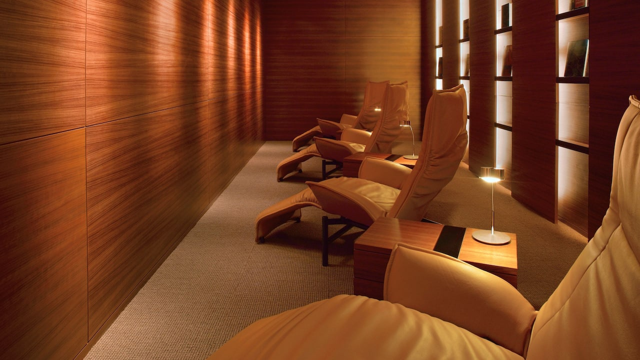 Damai Spa Meditation Room at Grand Hyatt Singapore