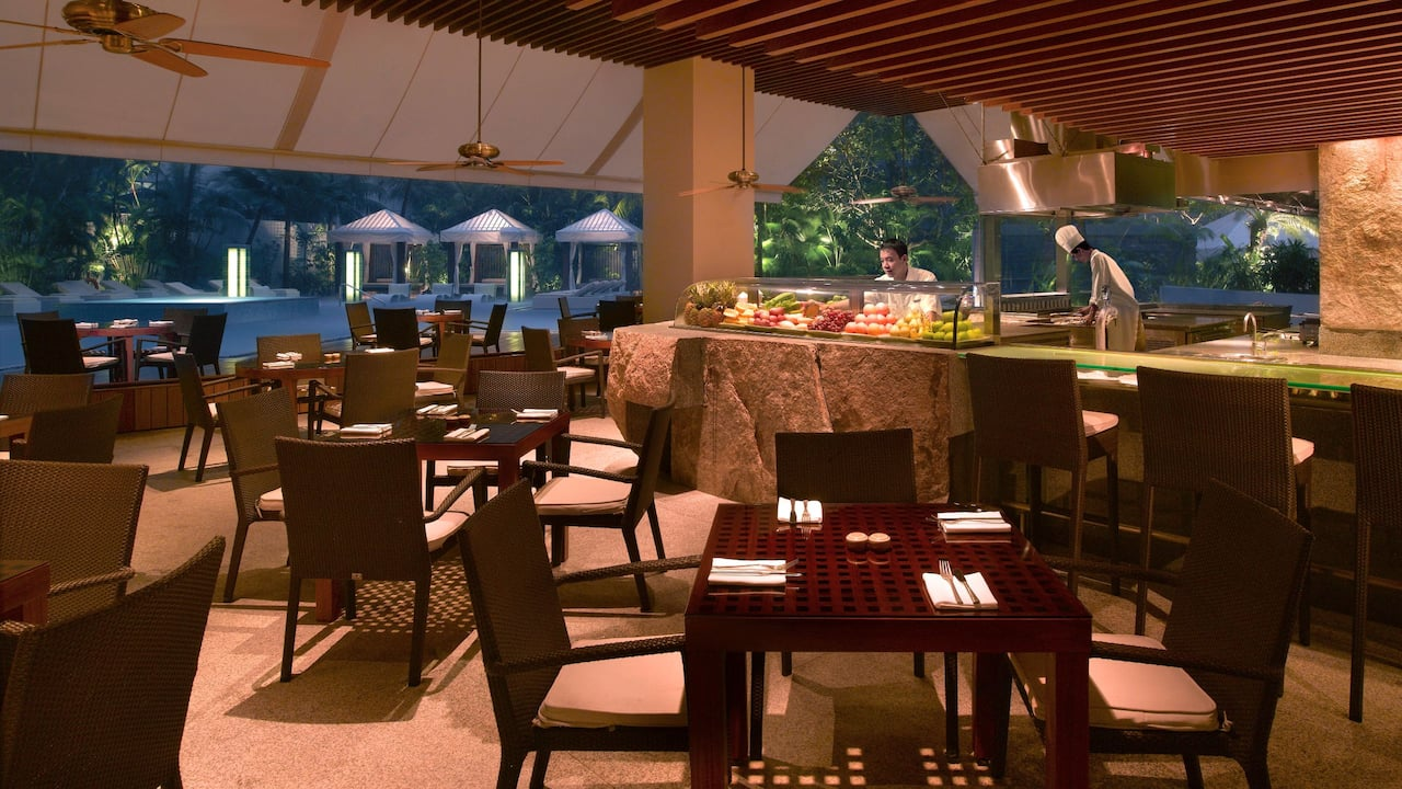 Oasis (Grand Hyatt Singapore) best places in Orchard for a BBQ dinner