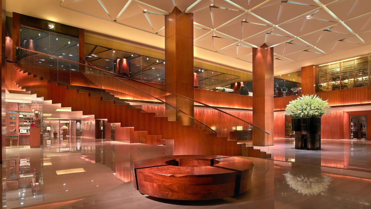 Hotel Lobby Grand Hyatt Singapore