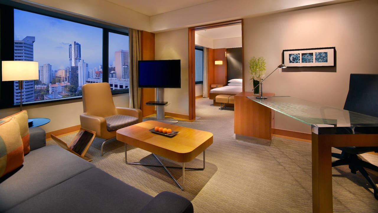 Grand Deluxe Two Bedroom at Grand Hyatt Singapore