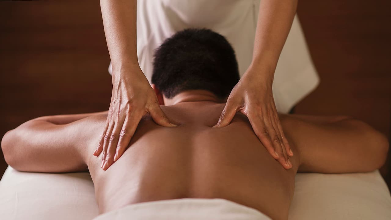 Damai Spa (Deep Tissue Massage) Grand Hyatt Singapore