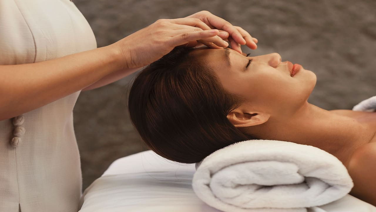 The Damai Spa (Facial Massage) Grand Hyatt Singapore