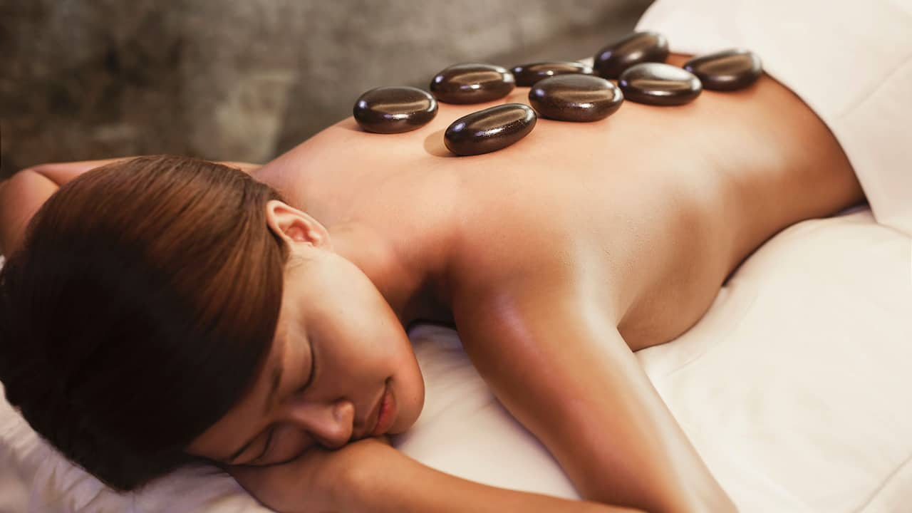 The Damai Spa (Hot Stone massage) Grand Hyatt Singapore