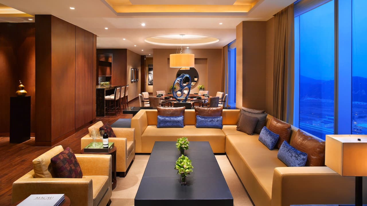 Grand Hyatt Macao Grand Chairman Suite Living Room