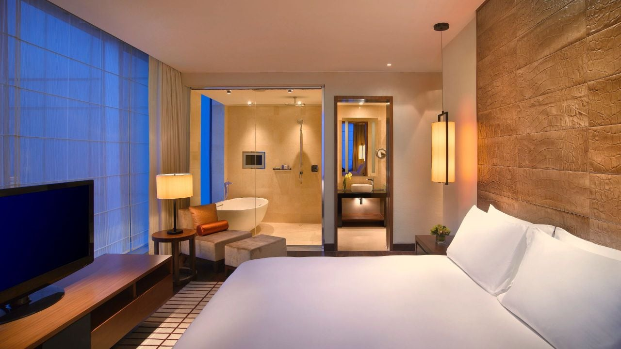 Grand Hyatt Macao Presidential Suite Bedroom