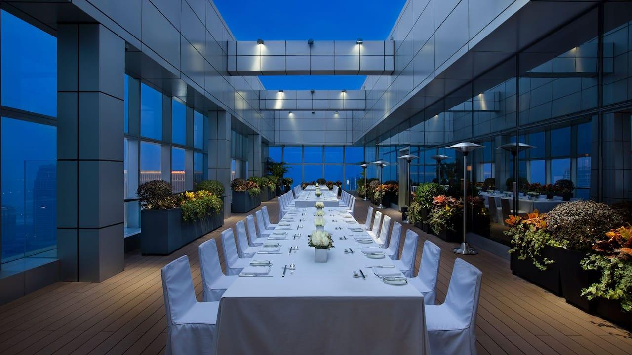 Terrace Long Table