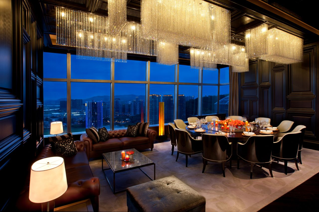Grand Hyatt Macao Private Dining on the 37th Floor