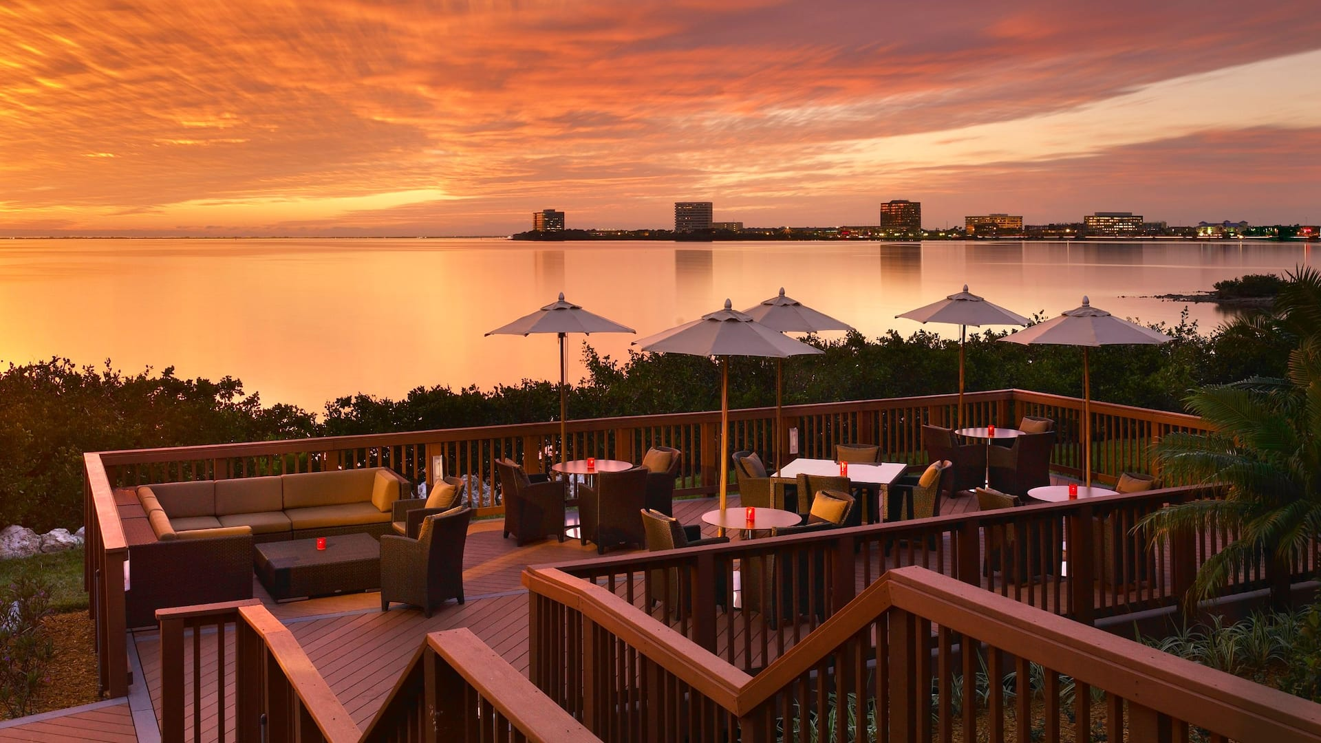 Grand Hyatt Tampa Bay Outdoor Dining