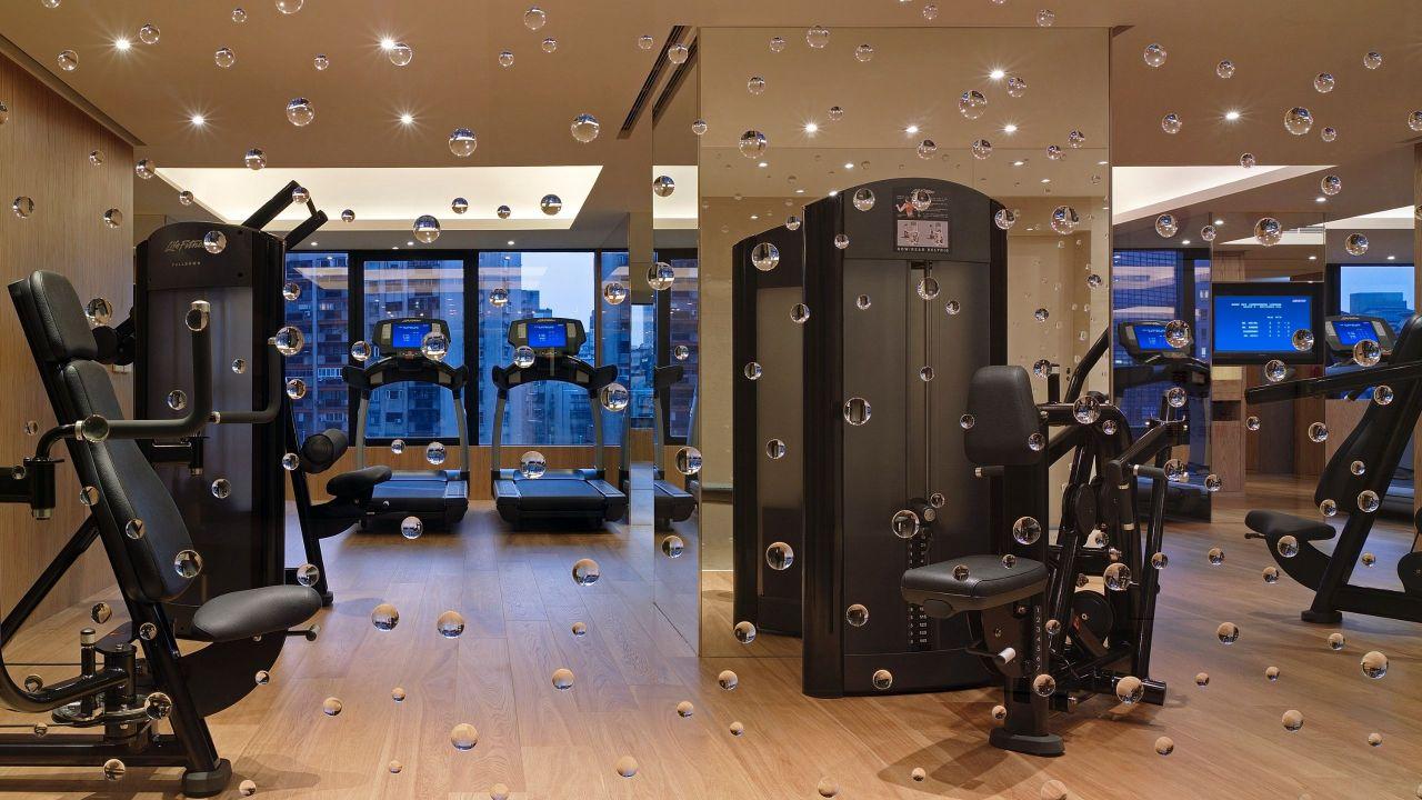 Grand Hyatt Taipei Club Oasis Gym