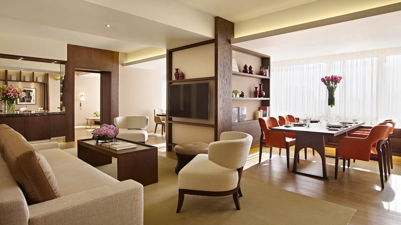 Grand Hyatt Taipei Suite