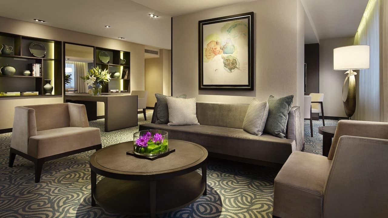 Grand Hyatt Taipei Premier Suite 2408 Livingroom