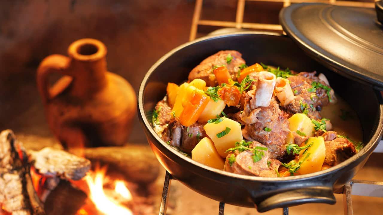 34 Lamb Shank Stew