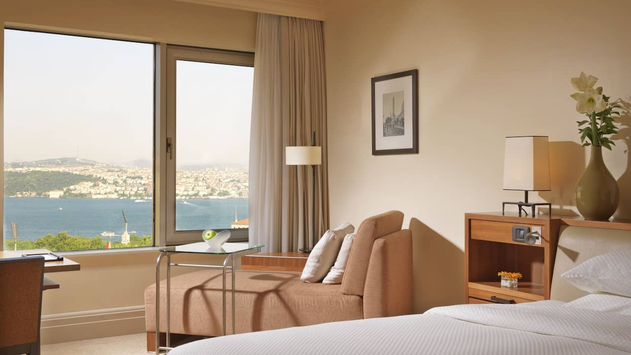 Grand Hyatt Istanbul King Bed Sea View