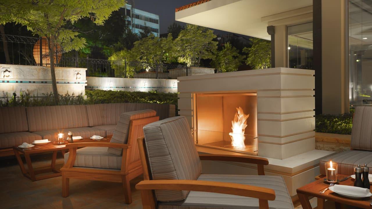 34 Garden Fireplace