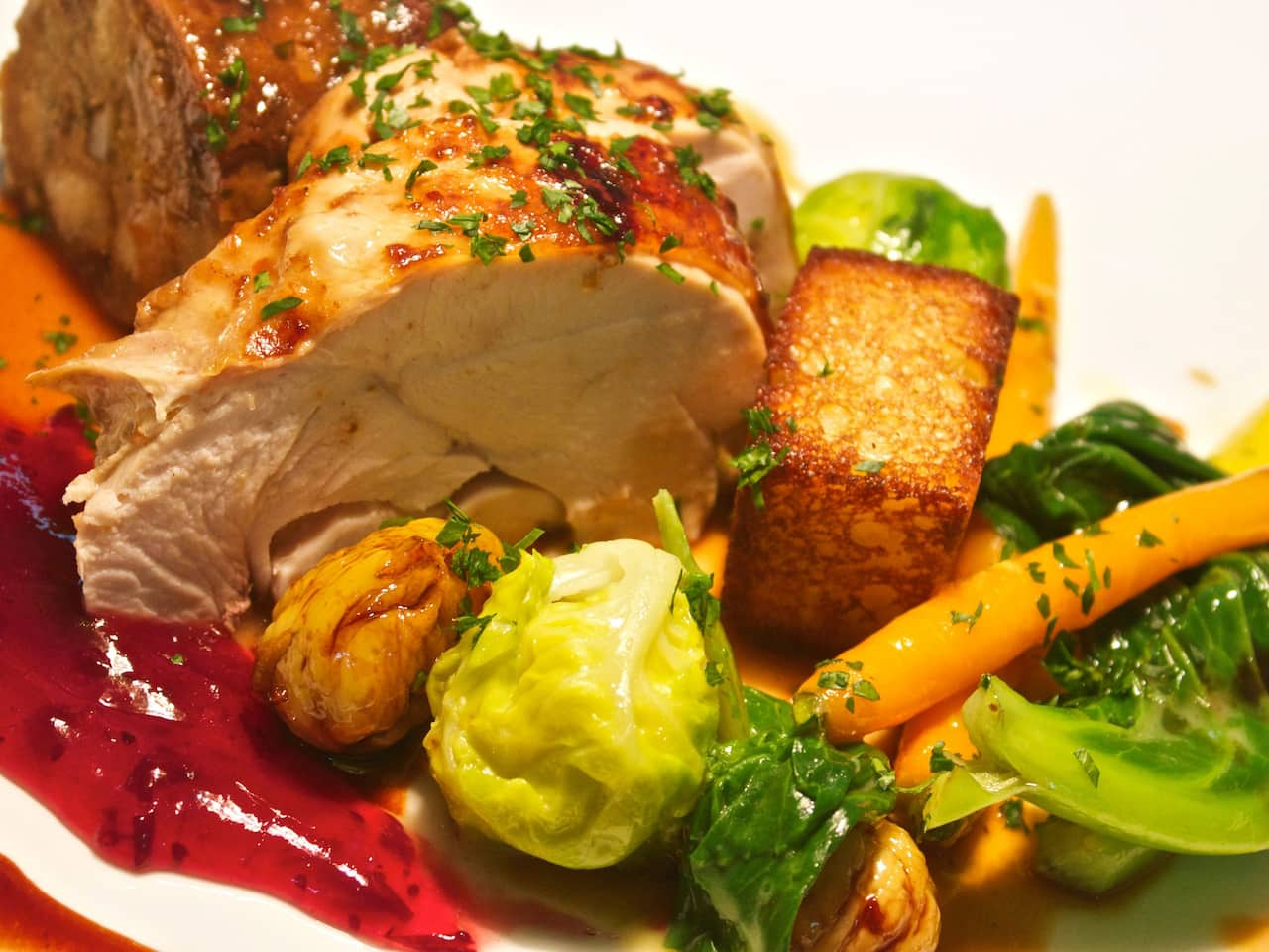 Oven Roasted Capon