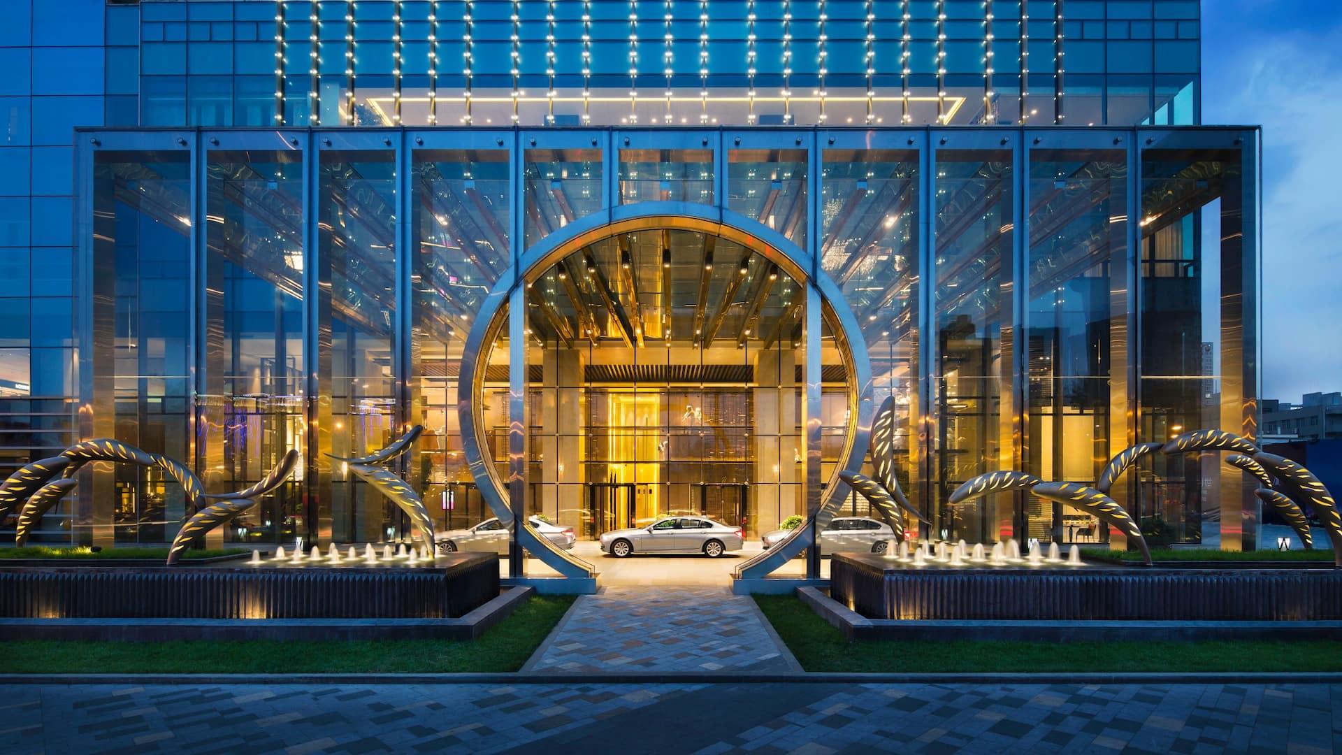 Grand Hyatt Shenyang exterior