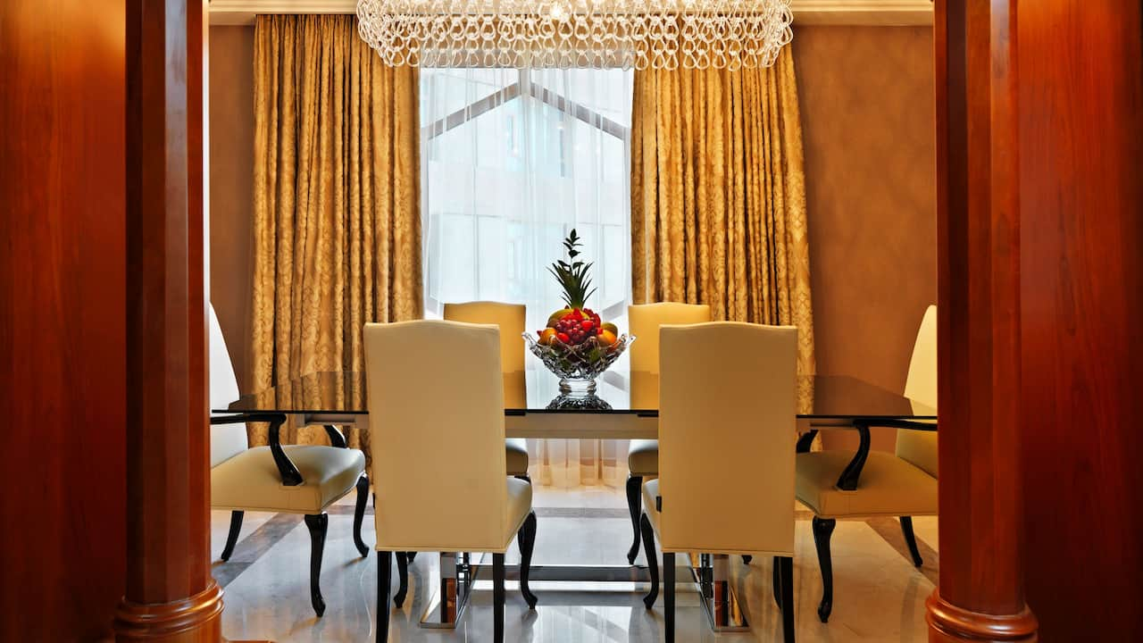 Royal Suite B Dining  Table