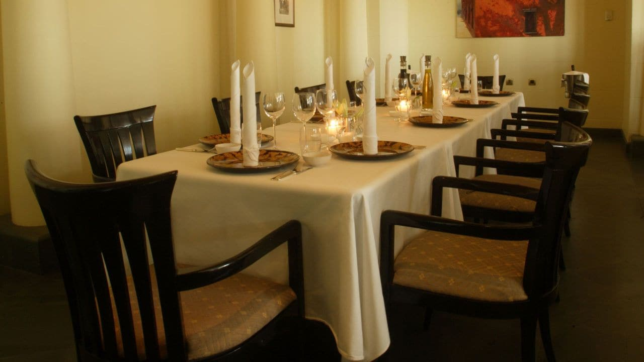 Lincontro private dining room