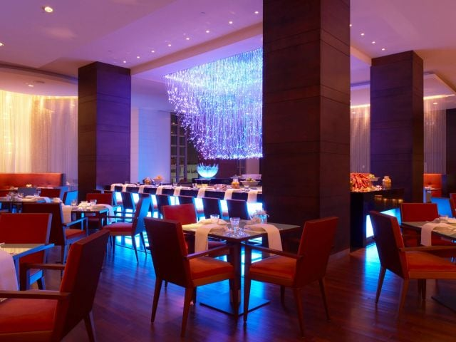 Grand hyatt north dining room