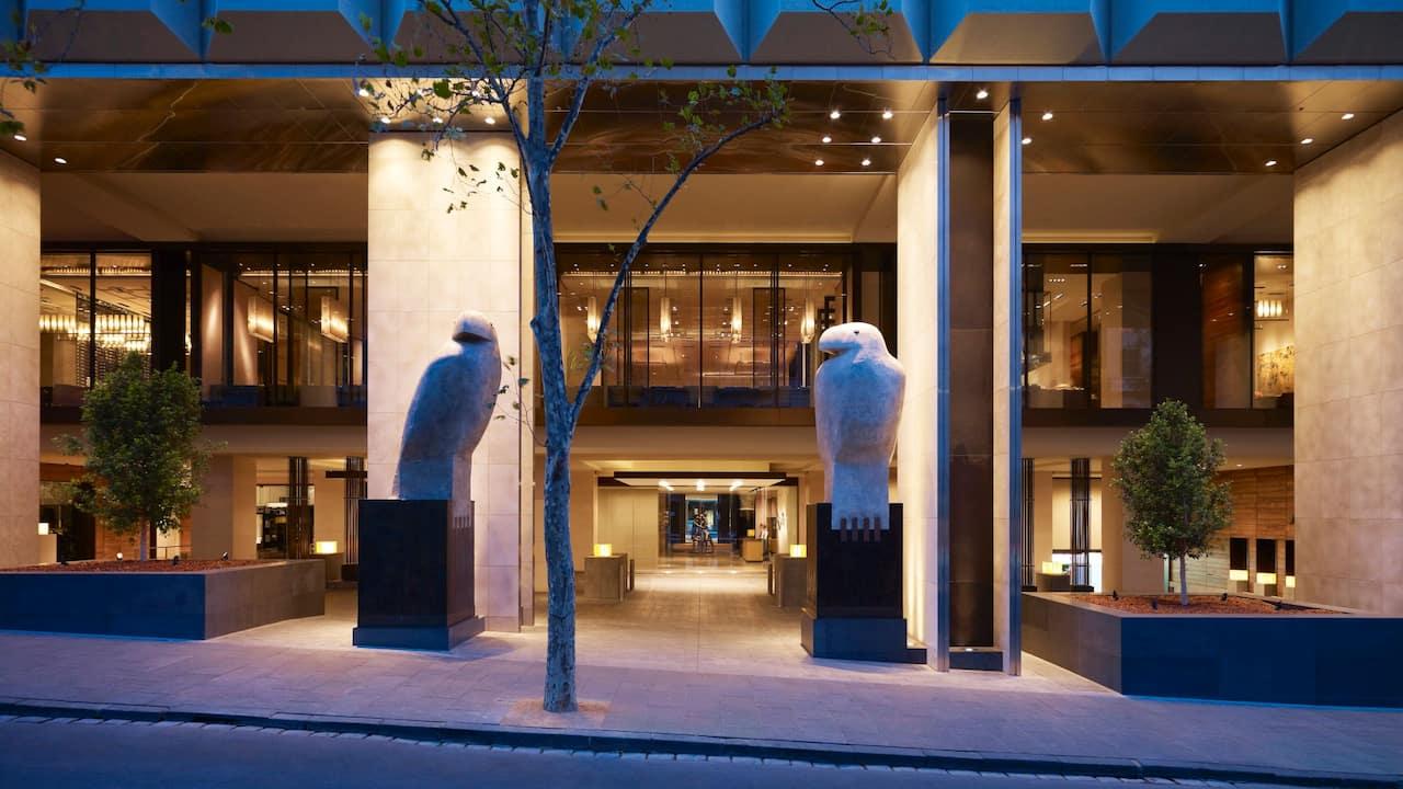 Grand Hyatt Melbourne Russell Exterior