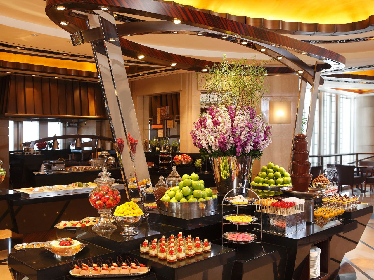 Hyatt Grand Shanghai buffet