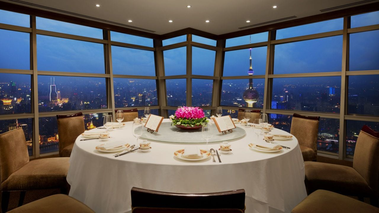 Club Jin Mao private dining