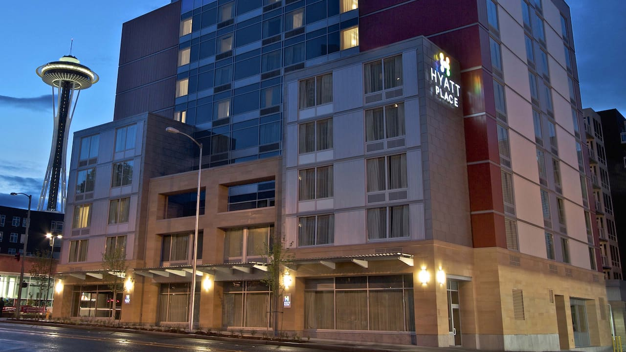 Hyatt Place Downtown Seattle exterior