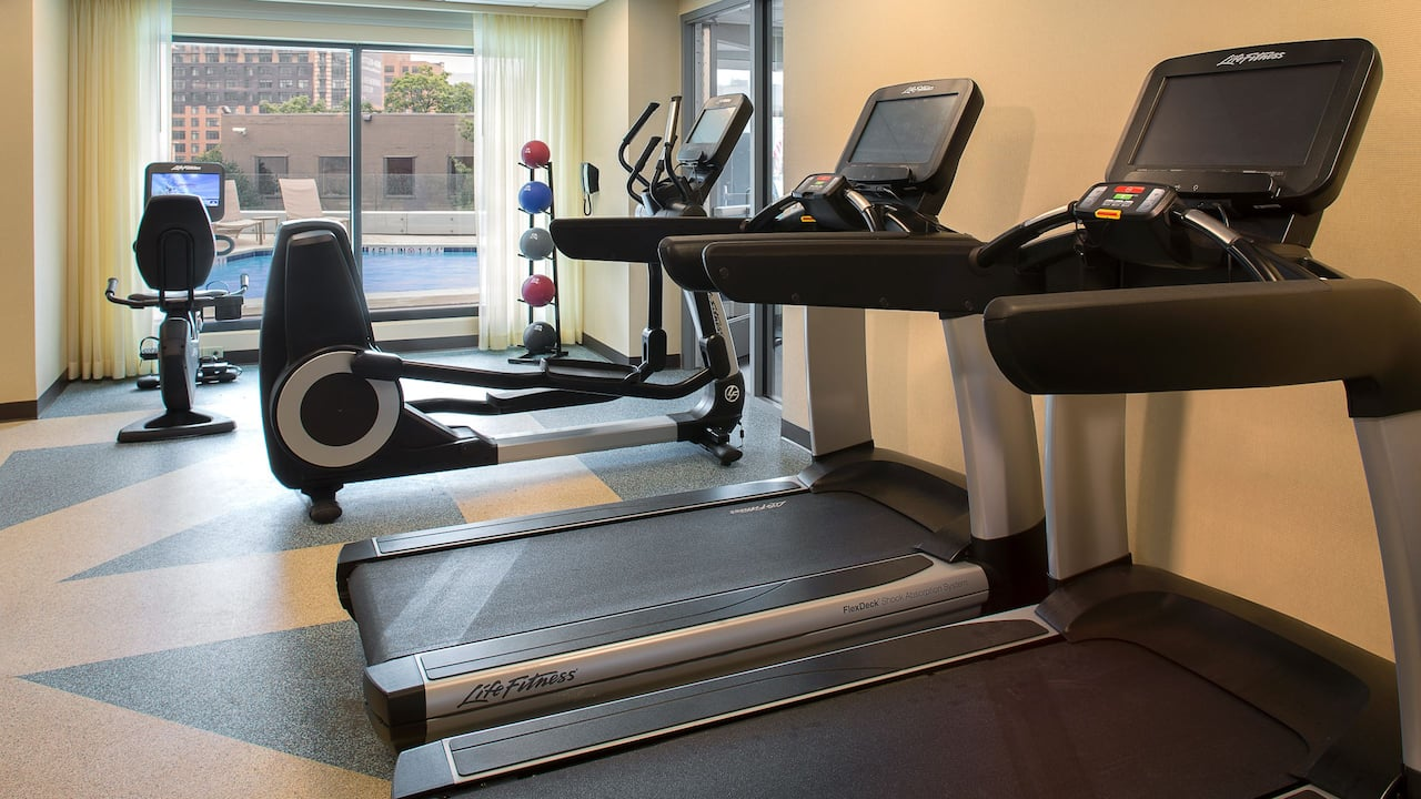 24/7 Gym Hyatt Place Washington DC/US Capitol