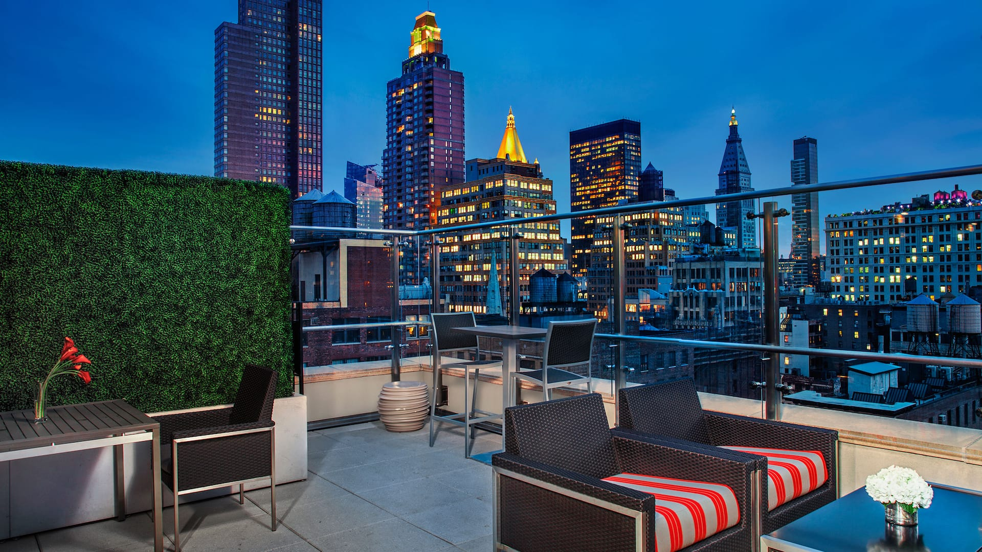 Hyatt Herald Square New York Rooftop Lounge