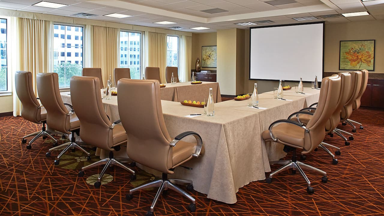 Veranda meeting room Grand Hyatt Atlanta