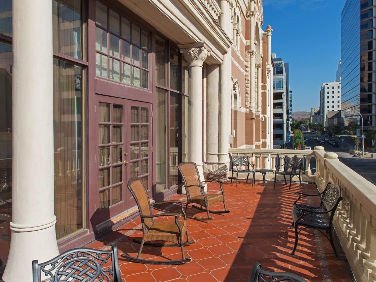Brazos Suite Balcony The Driskill