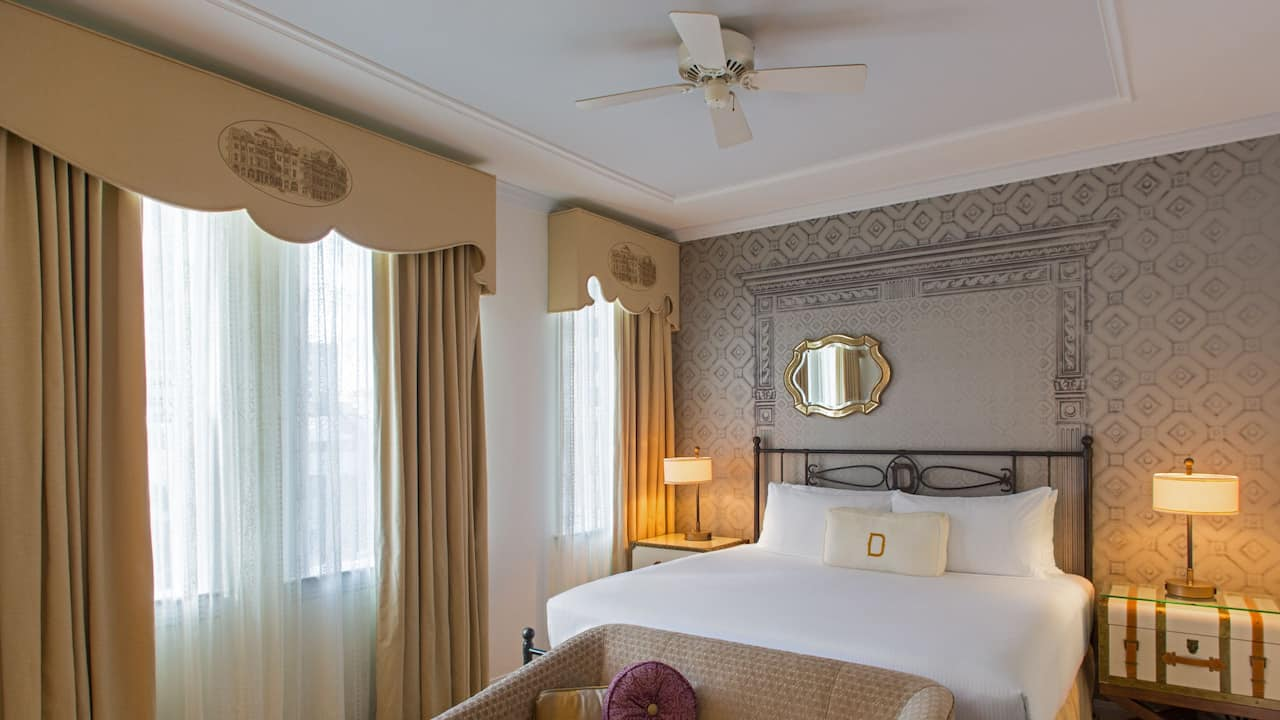 Room with 1 King Bed or 1 Queen Bed The Driskill