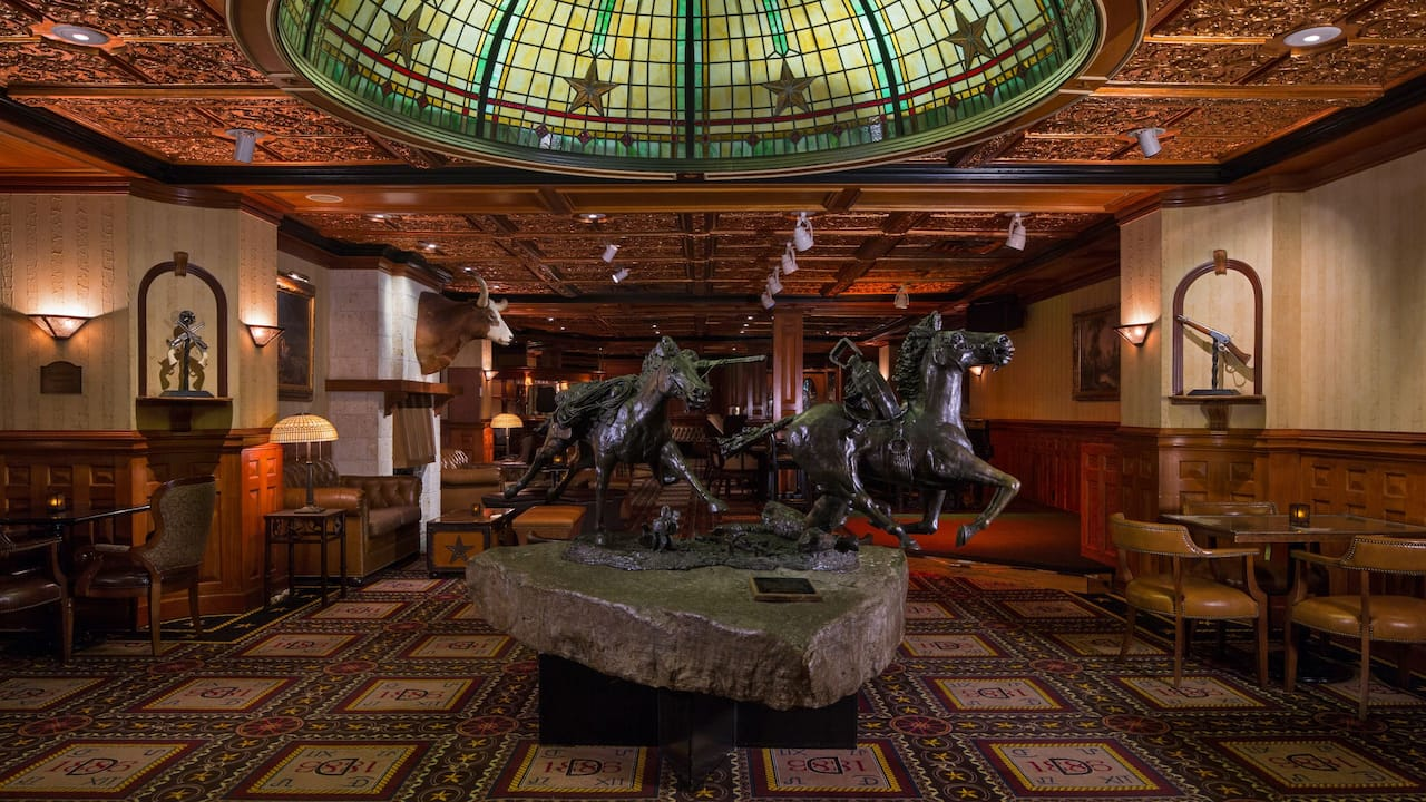 Horses Sculpture The Driskill