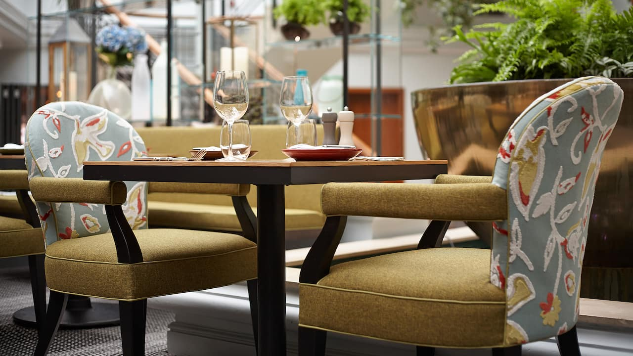 Restaurants Birmingham City Centre | Hyatt Regency Birmingham