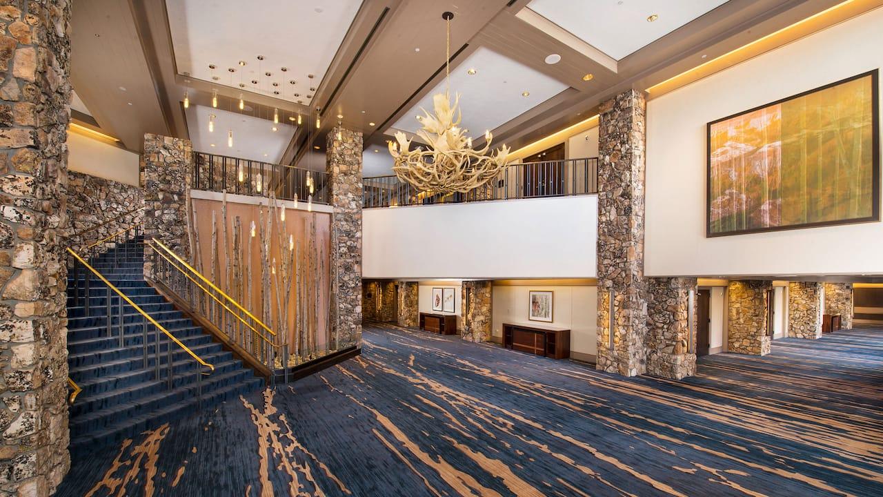 Heritage Hall and Foyer Park Hyatt Beaver Creek Resort and Spa