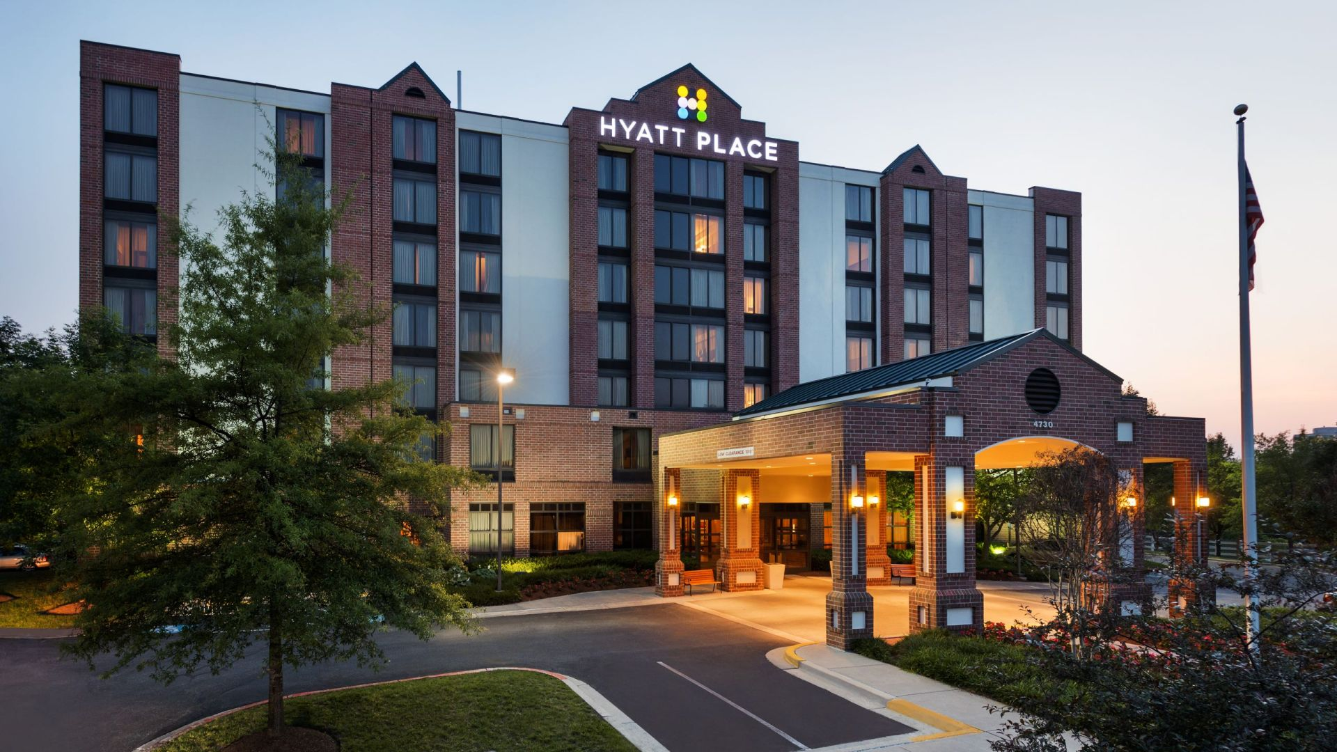 Hyatt Place Baltimore Exterior