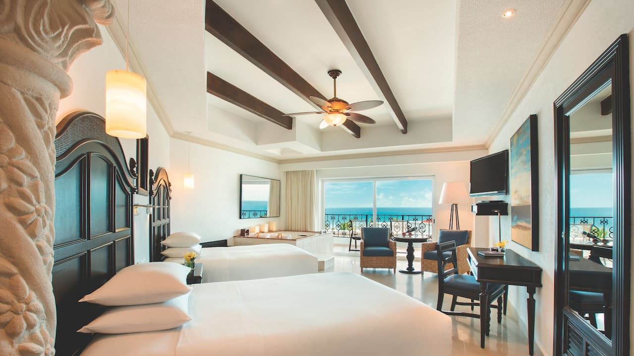 Premium Ocean Front Junior Suite Double
