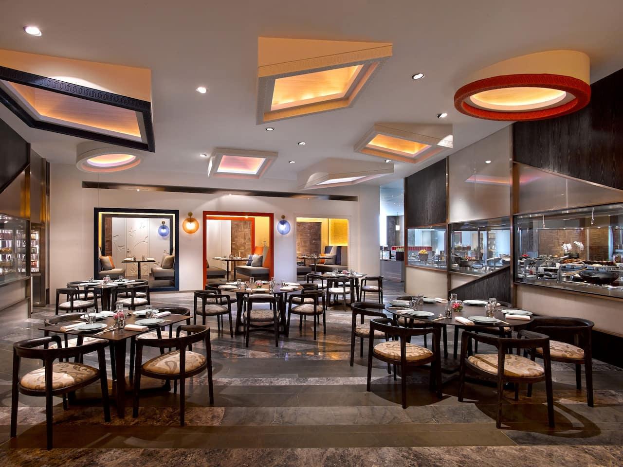 华池 88 中餐厅就餐区