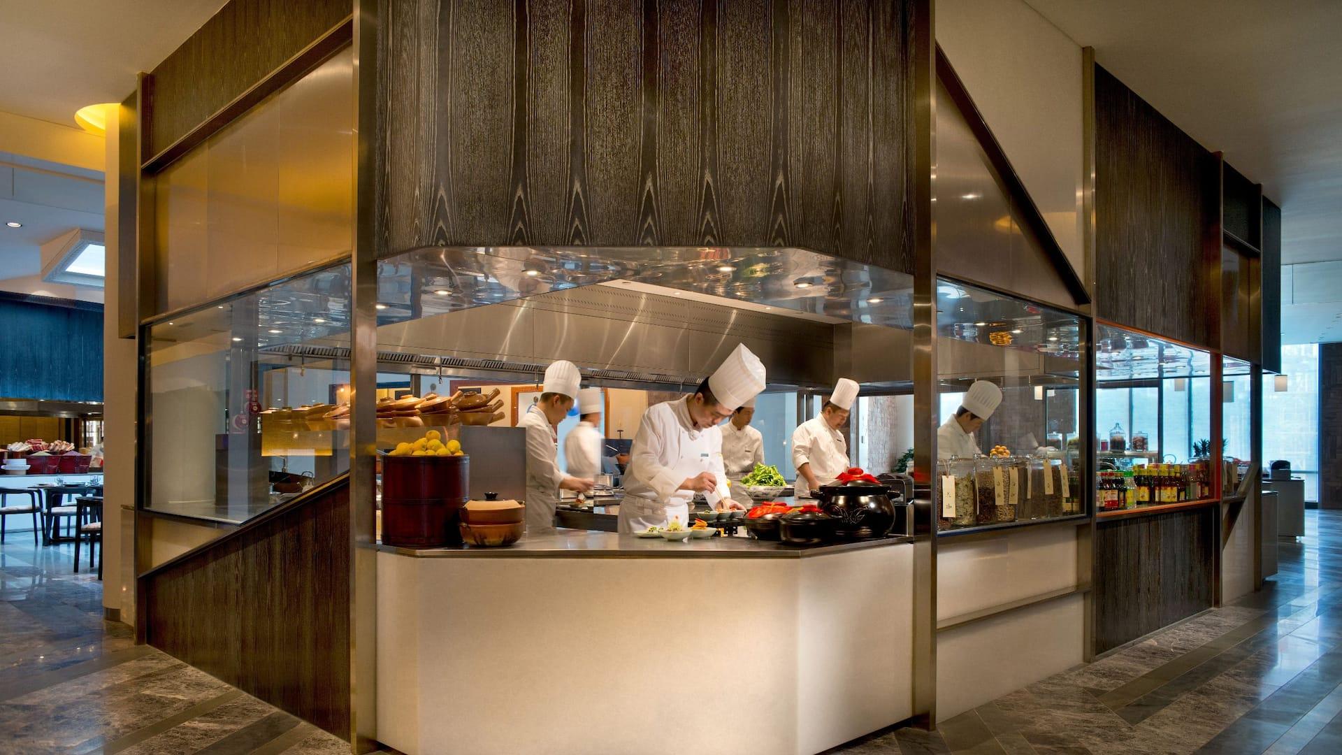 华池 88 开放式厨房