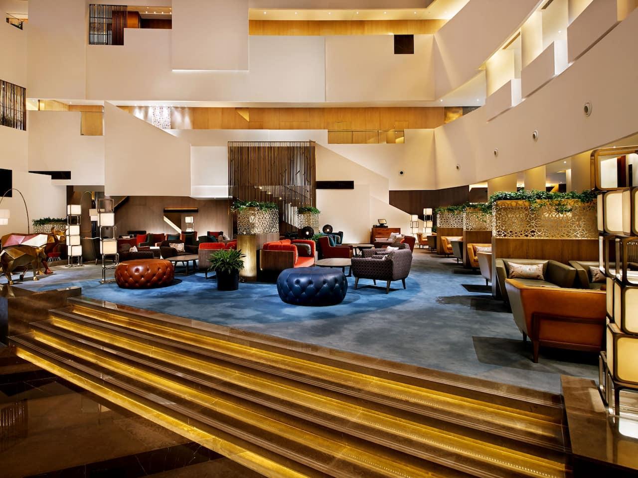 Atrium 中庭餐厅一览