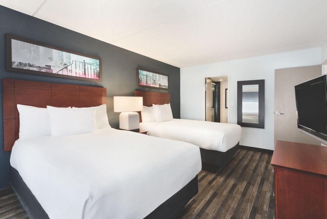 Two room double bedroom