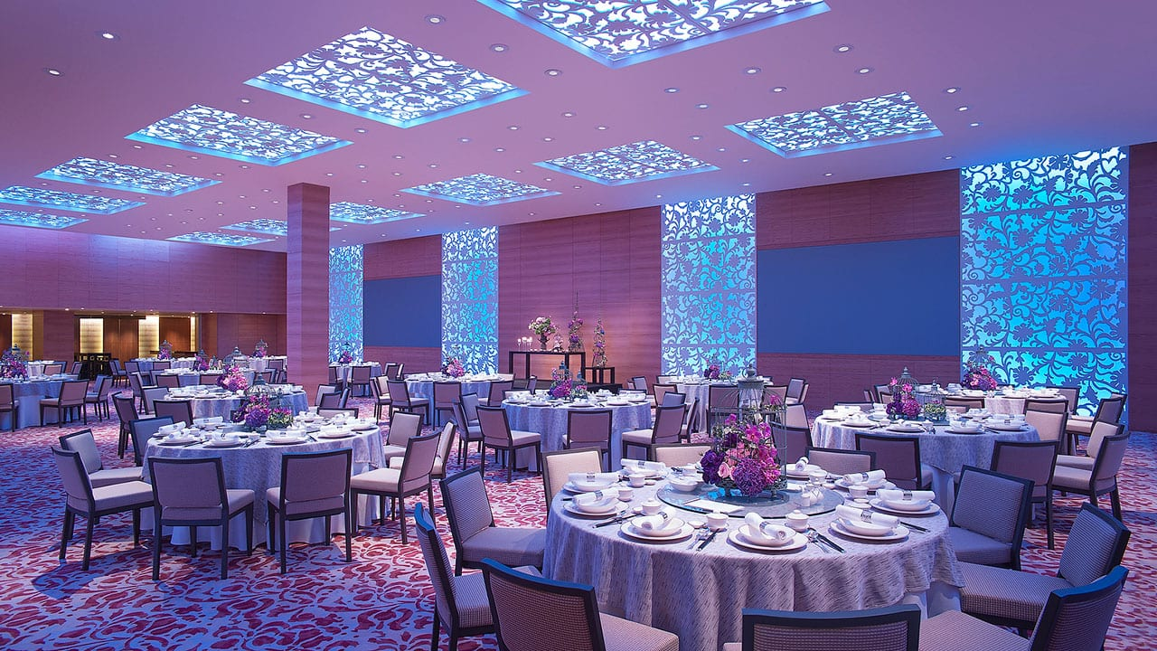 Grand Residence Wedding Venues at The Grand Hyatt Hotel, Singapore