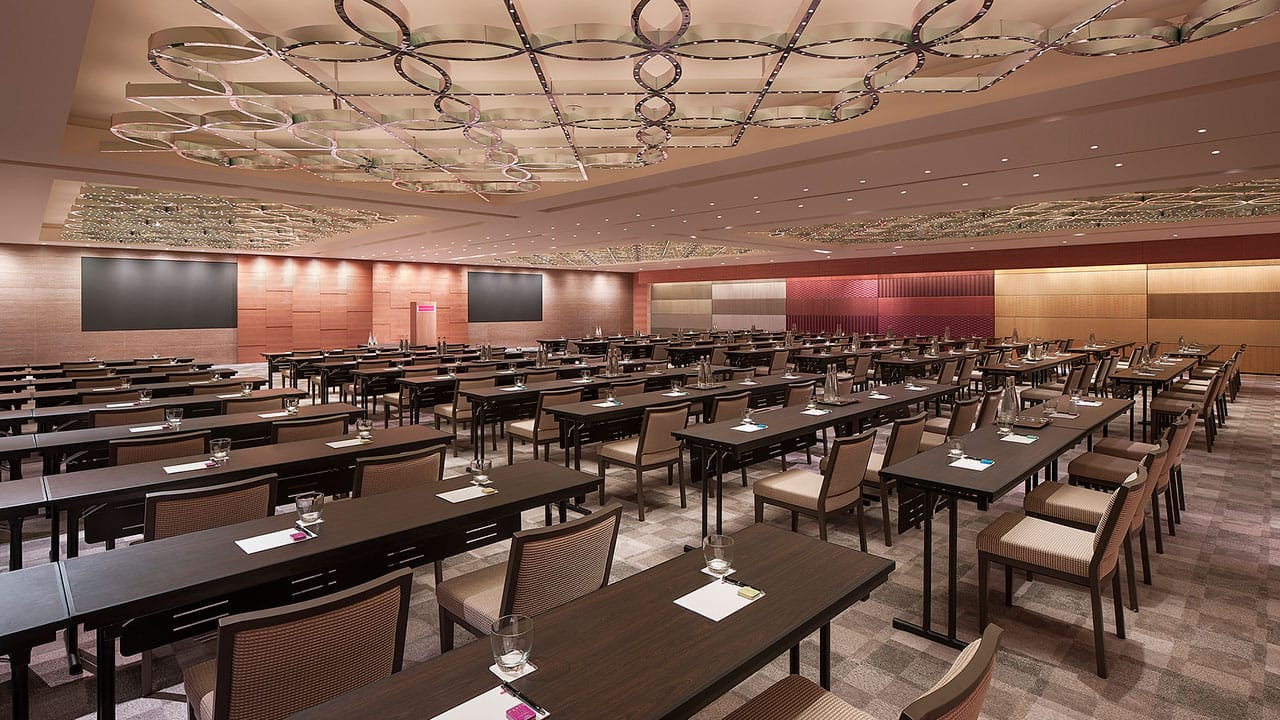 Fully equipped meeting, board and conference rooms at Grand Hyatt Singapore