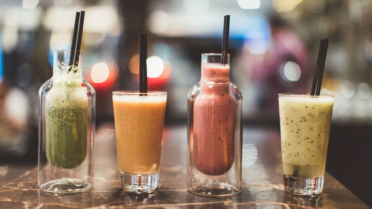Smoothies | Andaz London Liverpool Street