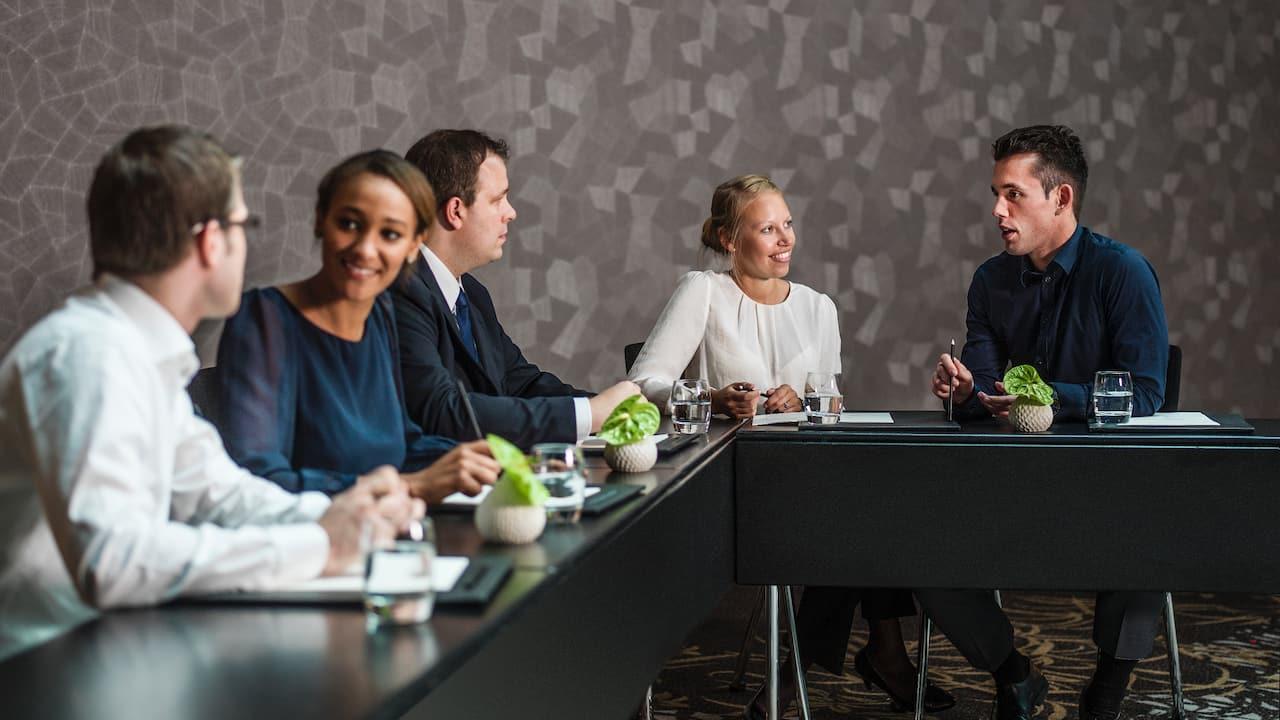 Succesful meetings at Hyatt Regency Dusseldorf