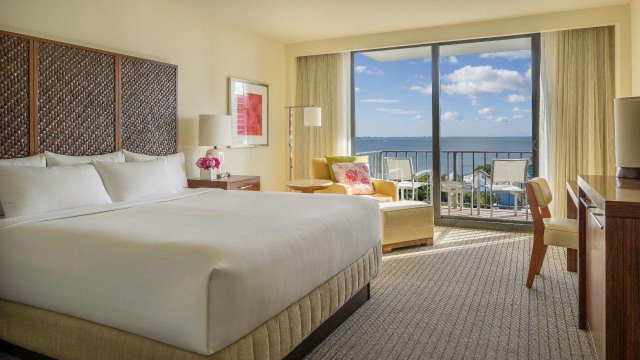 Hyatt Regency Sarasota King Bed with Balcony High Floor