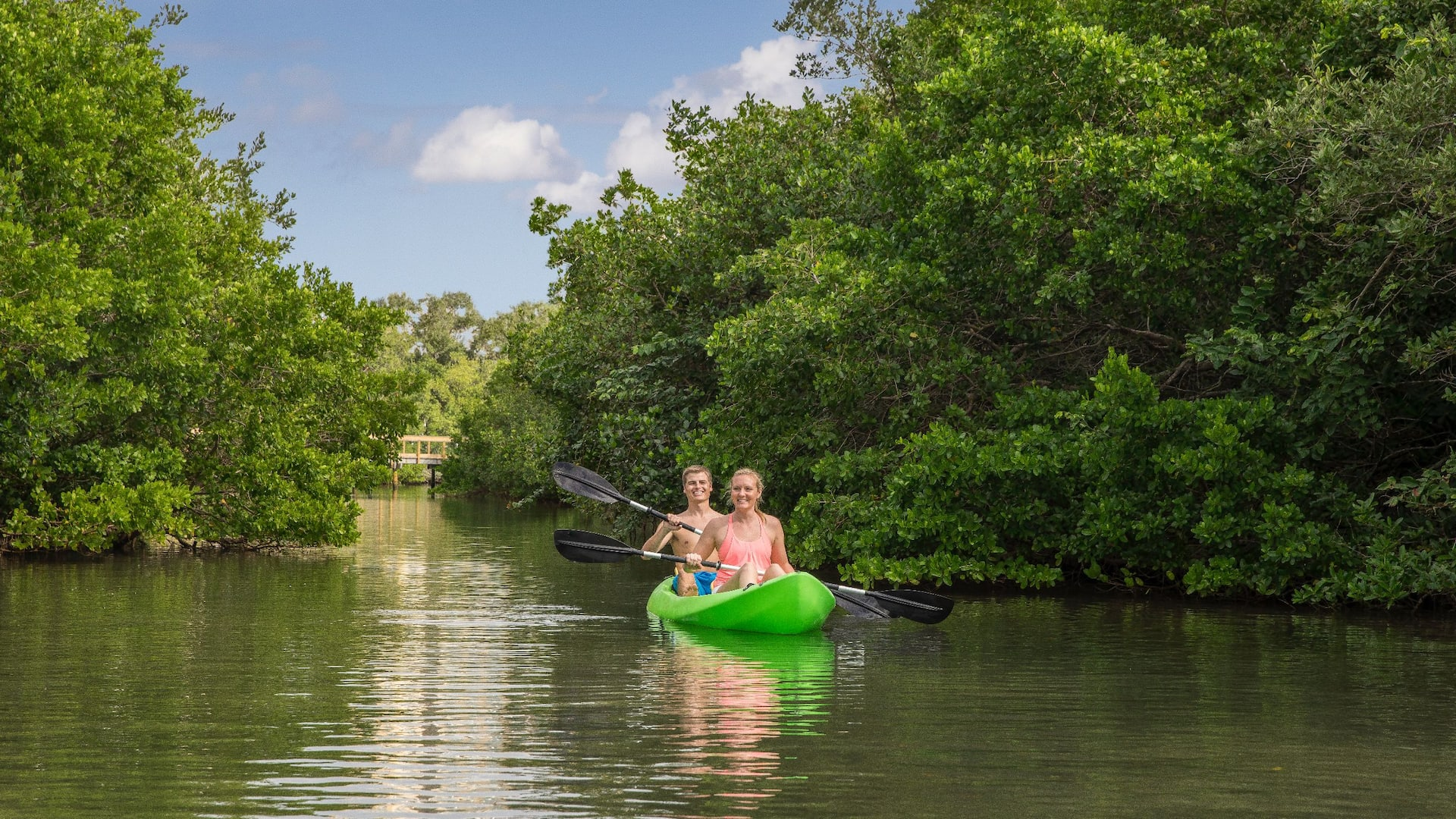 Kayaking at Hyatt Regency Sarasota