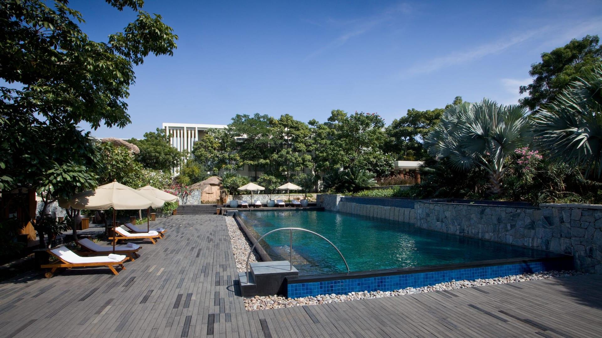 Hotels In Hyderabad India 5 Star Luxury Hotel In Gachibowli
